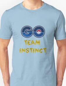 GO Team Instinct - Pokemon Go Unisex T-Shirt
