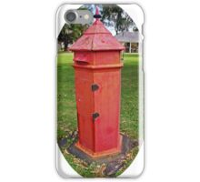 Halls Cottage Postbox iPhone Case/Skin