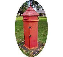Halls Cottage Postbox Photographic Print