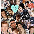 Cameron Monaghan Collage Case by seblaine