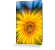 Sunflower with Blue Sky Greeting Card