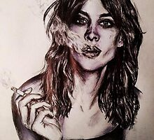 Alexa Chung by bettykirkers