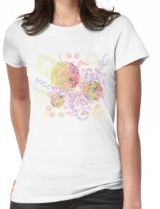Colorful Feast Womens Fitted T-Shirt
