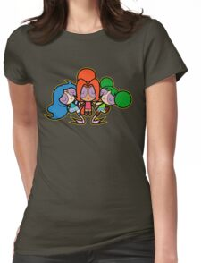 Triforce Girls Womens Fitted T-Shirt