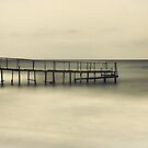 The Lonely Pier - Colour by Katayoonphotos