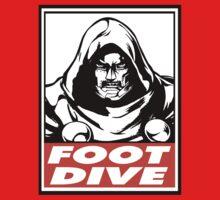 Dr. Doom Foot Dive Obey Design One Piece - Short Sleeve