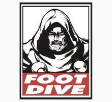 Dr. Doom Foot Dive Obey Design Kids Clothes