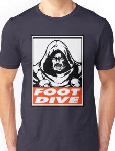 Dr. Doom Foot Dive Obey Design Unisex T-Shirt