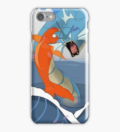 Pokemon Koi Dragon (Gyarados & Magikarp) iPhone Case/Skin