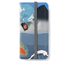 Pokemon Koi Dragon (Gyarados & Magikarp) iPhone Wallet/Case/Skin