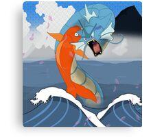 Pokemon Koi Dragon (Gyarados & Magikarp) Canvas Print