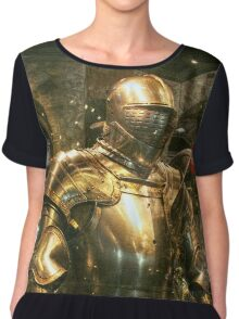 Suit of Armour Chiffon Top