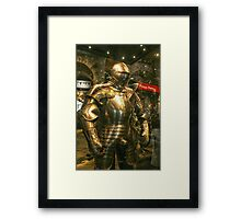Suit of Armour Framed Print