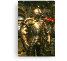 Suit of Armour Canvas Print