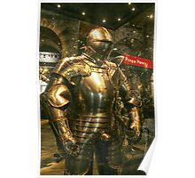 Suit of Armour Poster