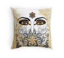 Eyes of Time Throw Pillow
