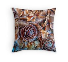 109 Hillend Ground Colour Throw Pillow