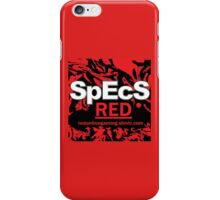Specs red iPhone Case/Skin