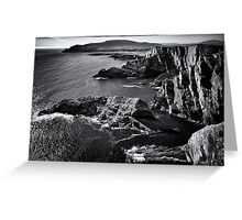 Kerry Cliffs II Greeting Card