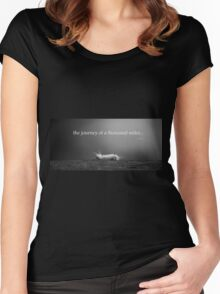 Journey... Women's Fitted Scoop T-Shirt