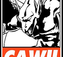 Firebrand CAW!! Obey Design by SquallAndSeifer