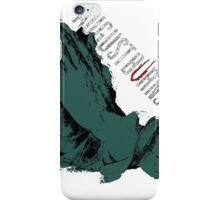 August Burn Red T-shirt - put your heart T-shirt 2  iPhone Case/Skin
