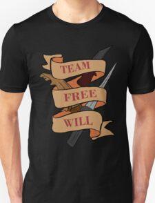 Team Free Will (no blood) Unisex T-Shirt