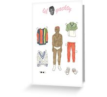 Lil Yachty Paper Doll Greeting Card