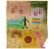 Basquiat Painting Poster