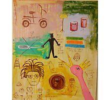 Basquiat Painting Photographic Print