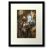 More Armour at the Tower Framed Print