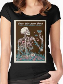 DAVE MATTHEWS BAND SUMMER TOUR 2016 LAKEVIEW AMPHITHEATRE-SYRACUSE,NEW YORK Women's Fitted Scoop T-Shirt