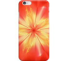 Red Apoflower iPhone Case/Skin