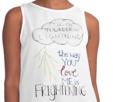 Thunder and lightning  Contrast Tank