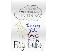 Thunder and lightning  Poster