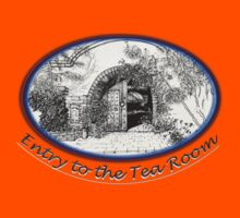 Tohono Chul entry to the Tea Room Kids Tee