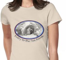Tohono Chul entry to the Tea Room Womens Fitted T-Shirt