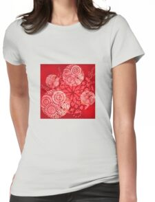 The Red Garden Womens Fitted T-Shirt