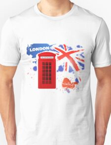 London Telephone Unisex T-Shirt