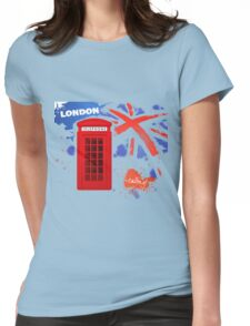 London Telephone B Womens Fitted T-Shirt