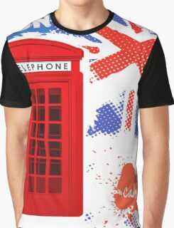 London Telephone Graphic T-Shirt