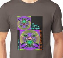 Commemorative Upside-Down Art Poster or Ambigram Art  Poster by Upside-Down Artist, L. R. Emerson II Unisex T-Shirt