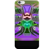 Commemorative Upside-Down Art Poster or Ambigram Art  Poster by Upside-Down Artist, L. R. Emerson II iPhone Case/Skin