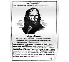 Wanted: Radical Jesus Poster