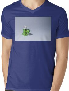 Embrace your wild side Mens V-Neck T-Shirt