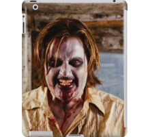Hungry zombie going to eat your brain iPad Case/Skin