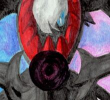 Pokemon Darkrai Watercolor Painting Sticker