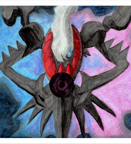 Pokemon Darkrai Watercolor Painting Sticker