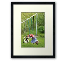 One of those days... Framed Print