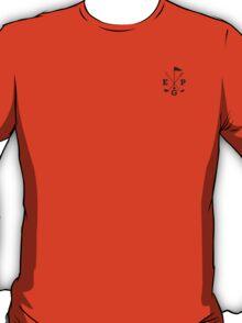 Golf - East Peak Apparel - Golf Flag and Clubs Print T-Shirt
